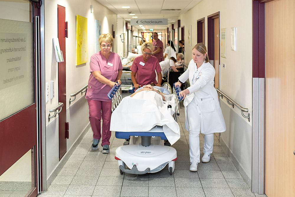 Notaufnahme Elisabeth Krankenhaus Geilenkirchen